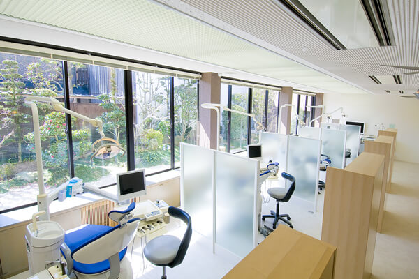 快適な診療を提供するために院内設備環境を整備